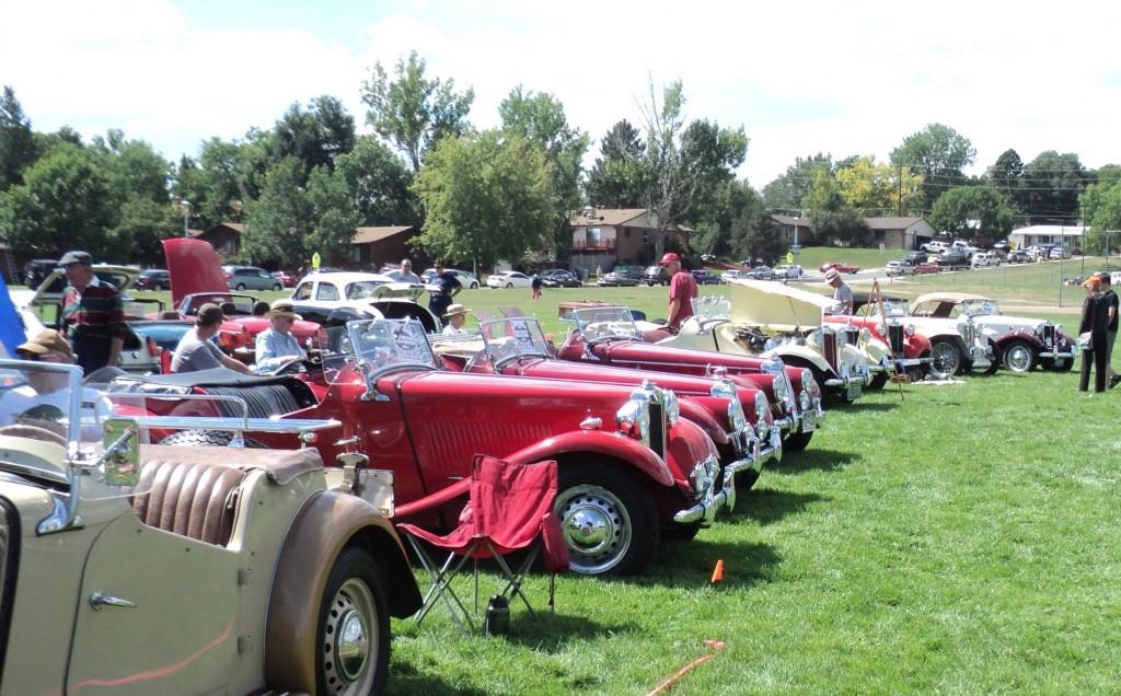 Many fine T cars