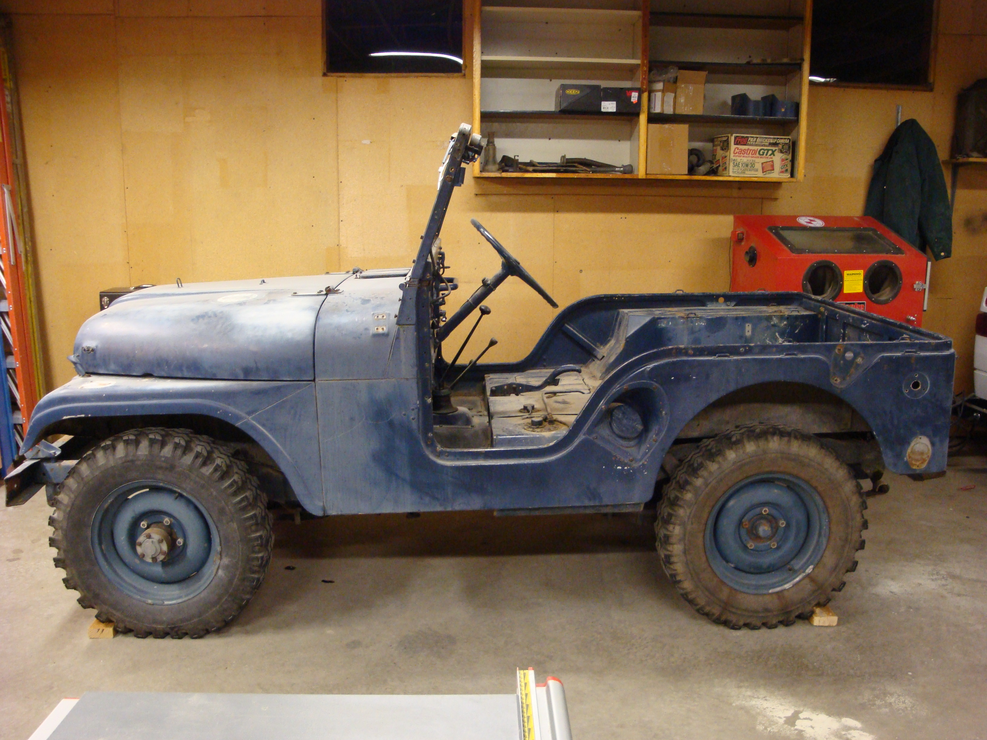 Jeep Clyde Place Garage 1953 Willys Military Seats Are Out