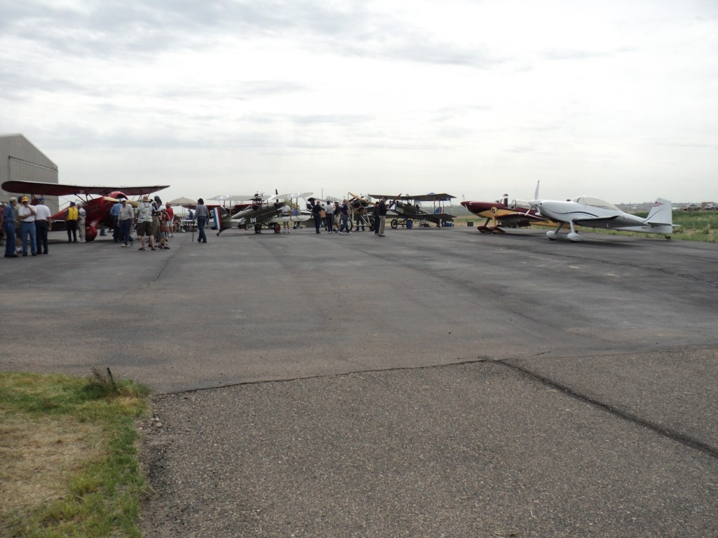 Vintage aero planes